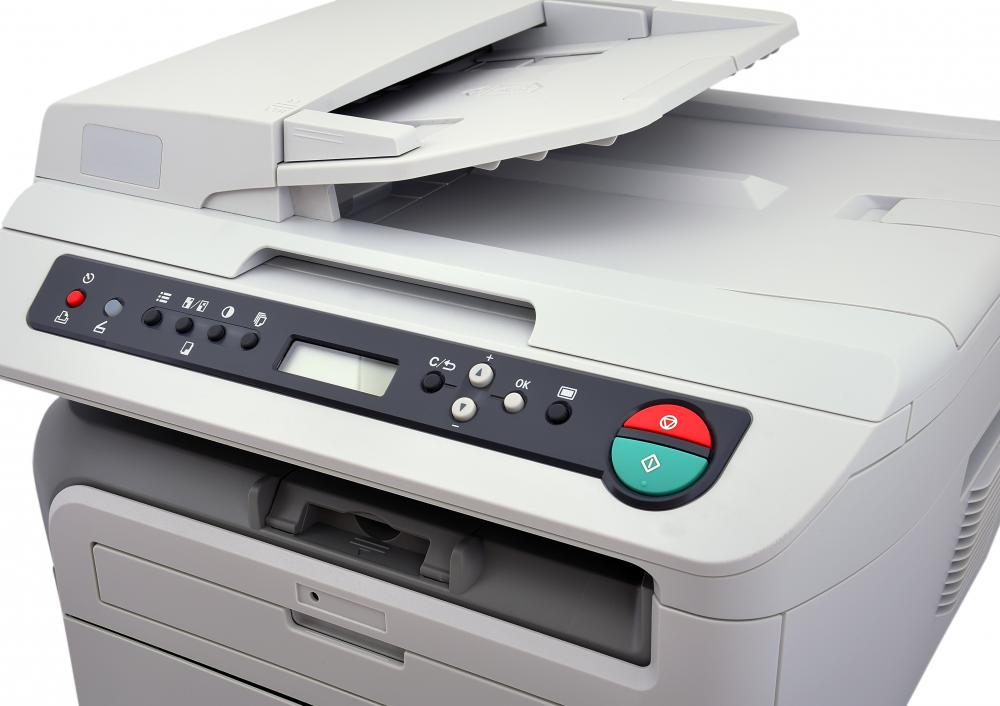A copier is used to print hard copies, but is unnecessary for soft copies.