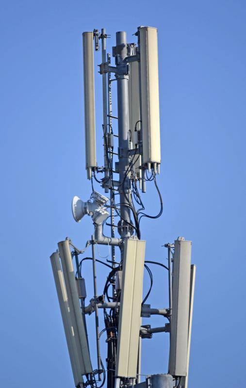 Some cell phones contain several types of antennas, and can connect to a number of wireless networks through the service provider's towers.