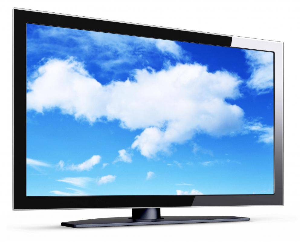 Many high definition televisions can be used as monitors.