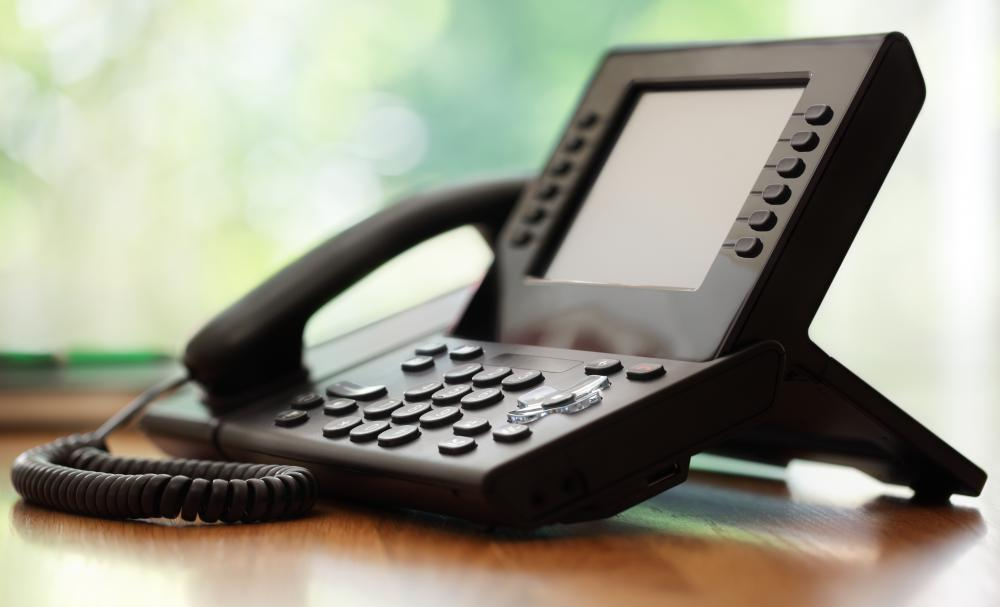 Business IT departments may set up and maintain teleconference phones and lines.