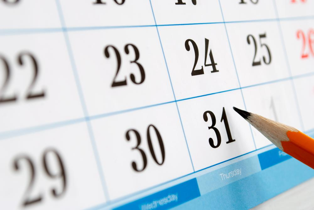 Overall system maintenance is typically required at least once every calendar year.