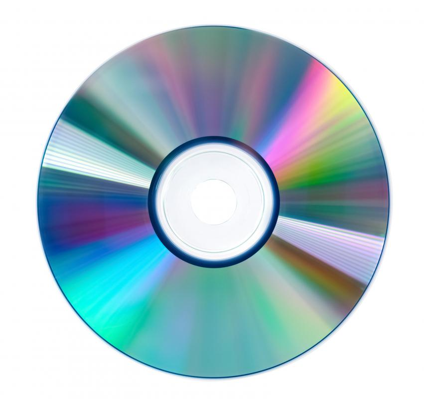 Data compact discs are used to store documents, movies and other types of files beyond music.