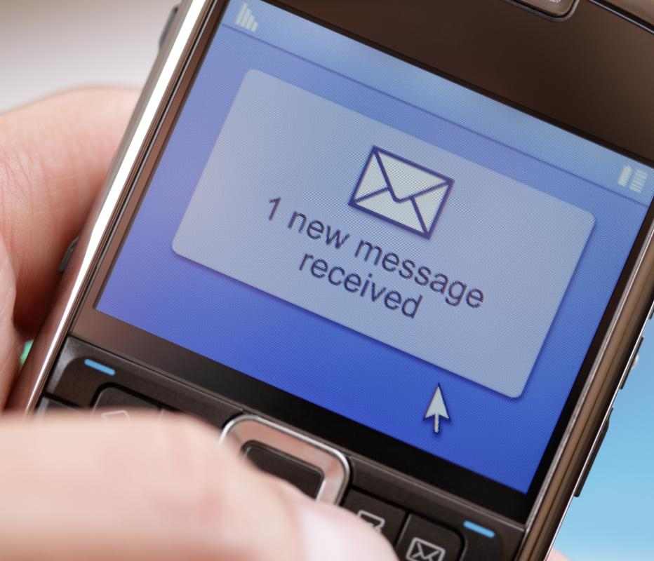 Instant messaging is similar to text messaging.