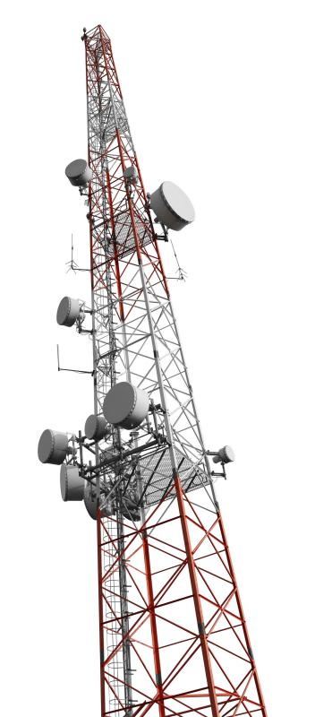 High speed internet can be provided wirelessly through cell towers.