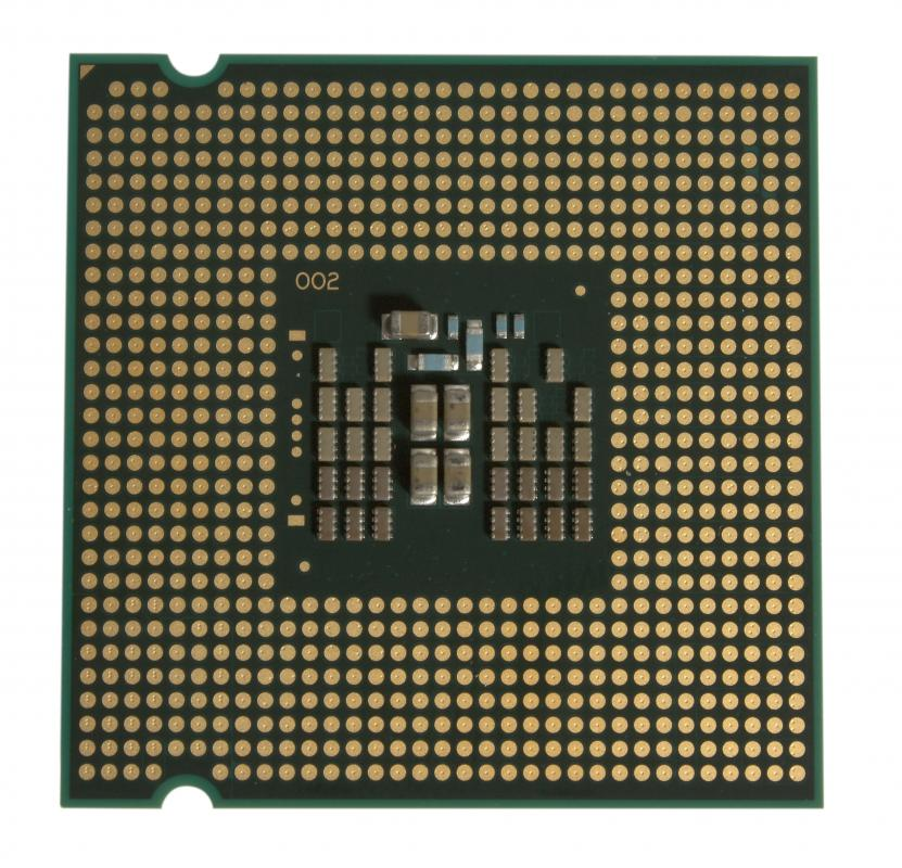 An Intel quad core CPU.