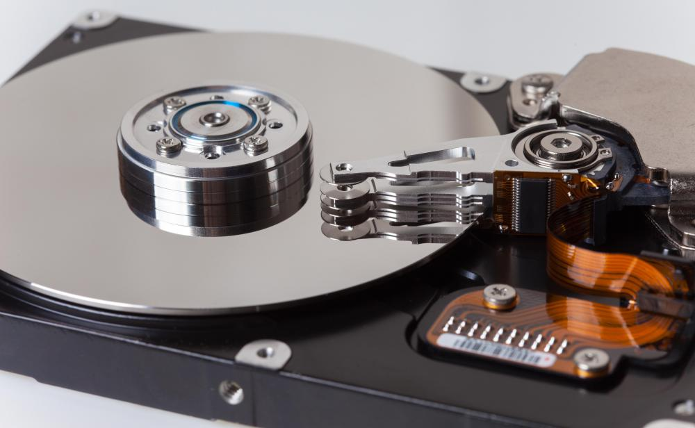Hard drive error can cause a computer disaster like data loss.