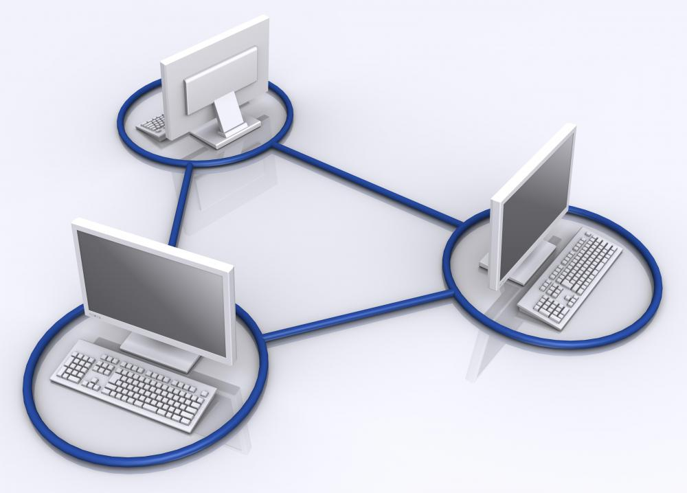 Computer networking devices enable computers to share data.
