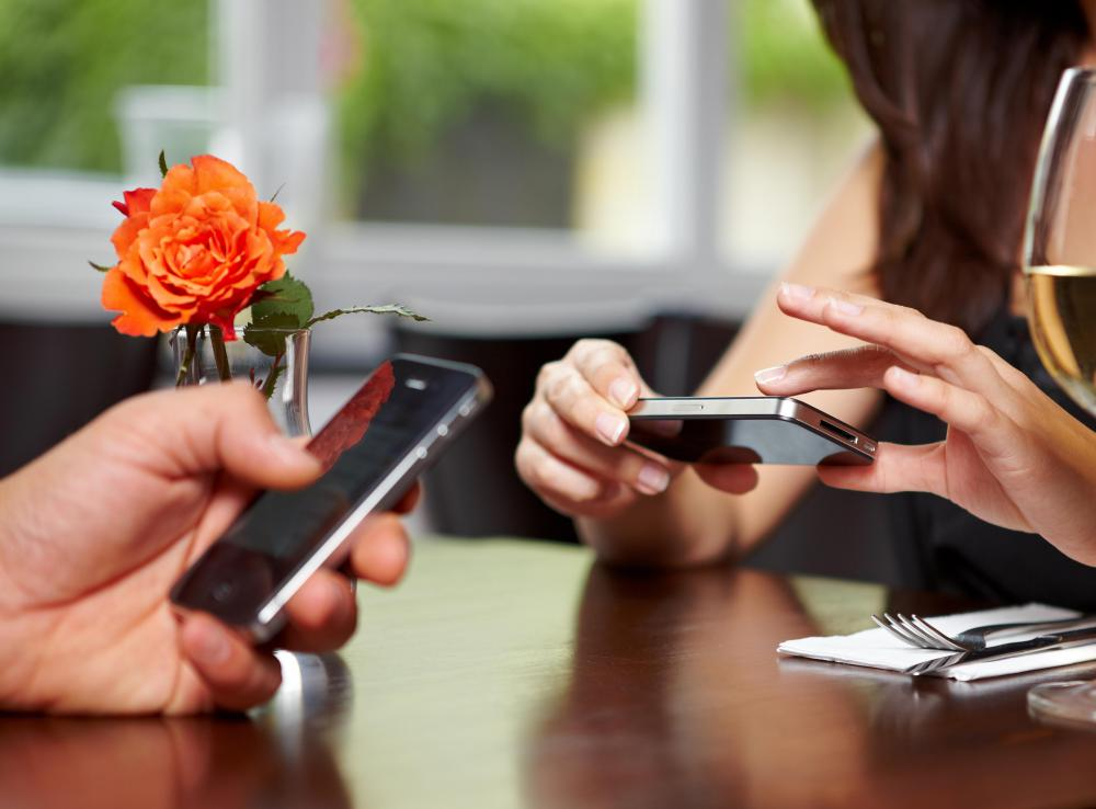 Mobile devices are commonly used to check updates on social networking sites.