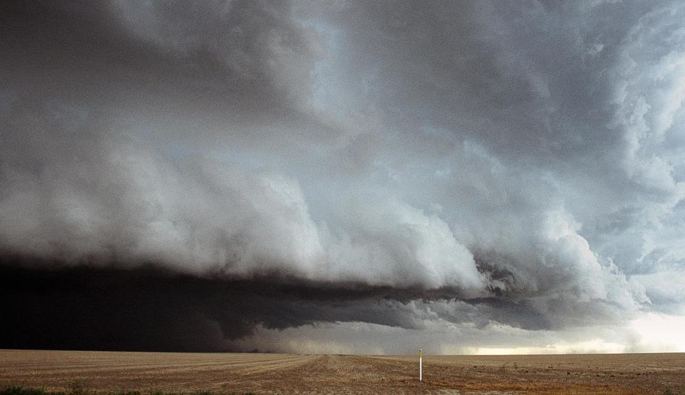 SCADA can help predict the direction of a storm front.