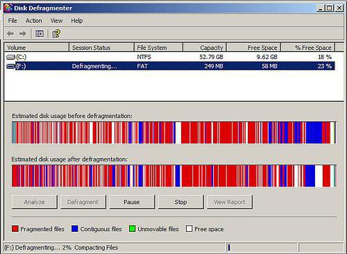 Windows OS systems feature tools for disc defragmentation.