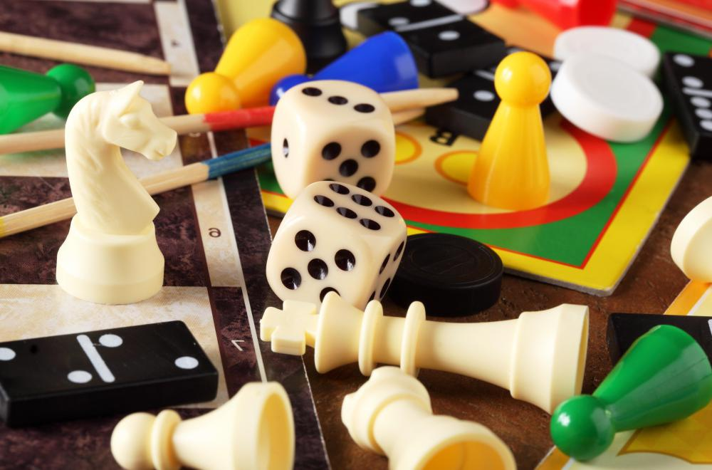 Some online games are based on physical board games.