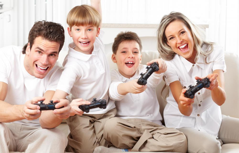 Most families who play videogames together are casual gamers.