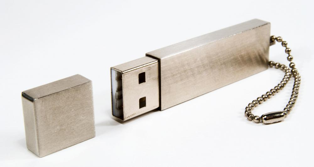 USB drives can store computer data.