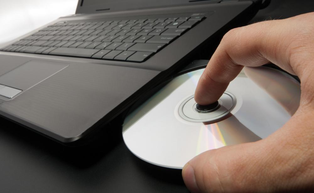 Computer programs may come in a box with a CD-ROM and manual.