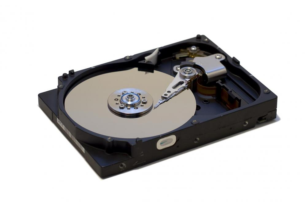 A hard disk drive is considered a mass storage device.