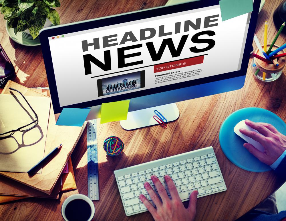 Electronic publications can be effective at getting the word out when breaking news happens.