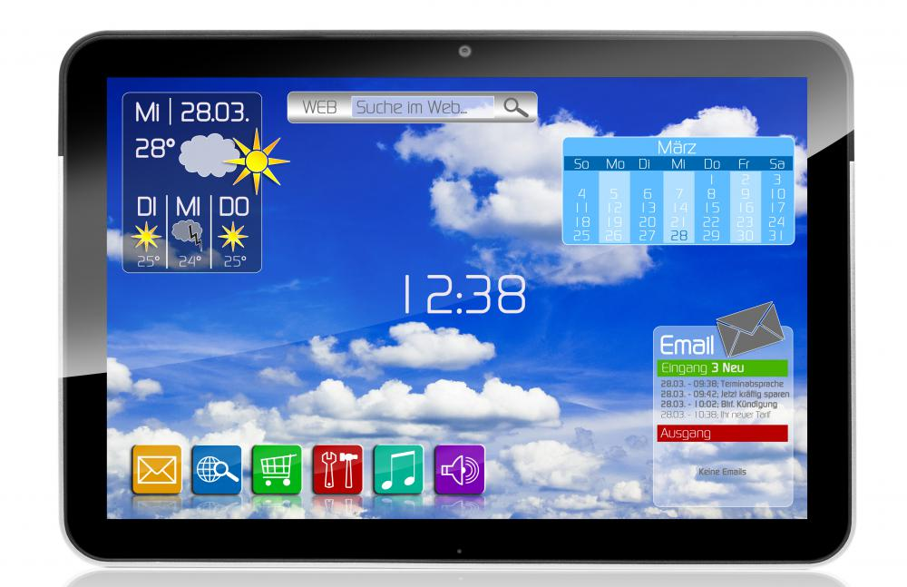 Tablet PCs may use 3G technology.