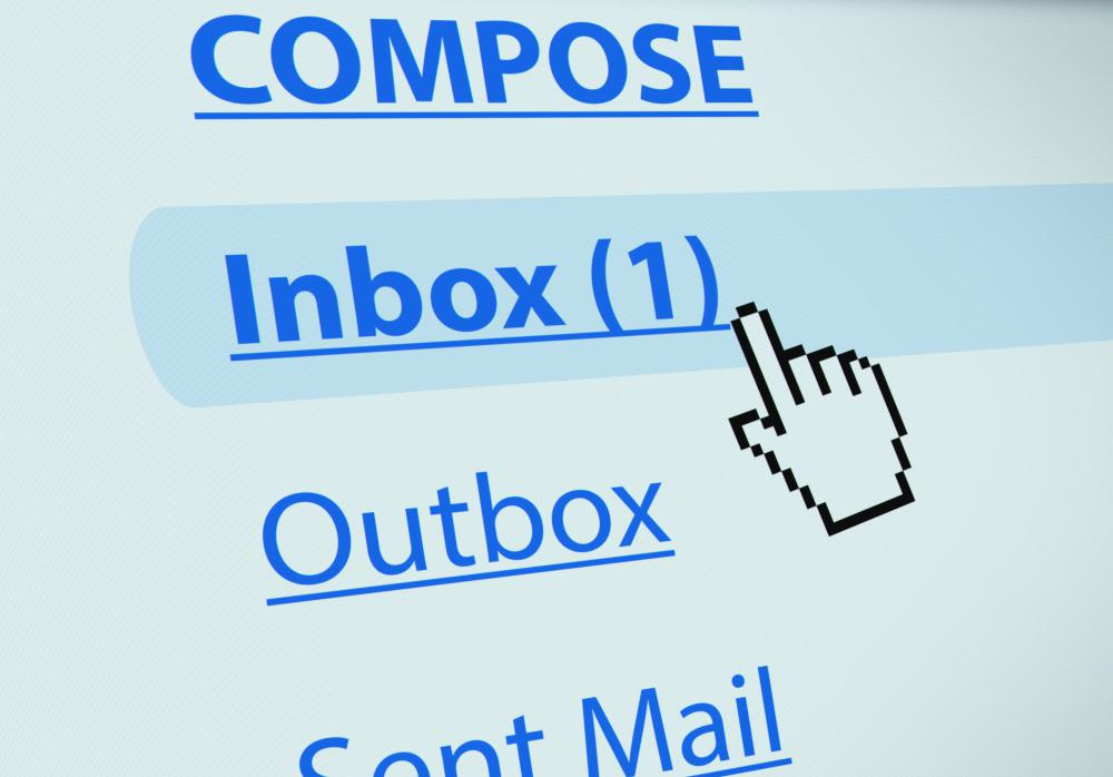 Email trains are usually sent to a person's entire address book.