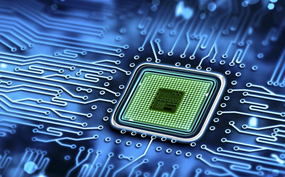 Microchips are semiconducting integrated circuits that handle information processing tasks in most computers.