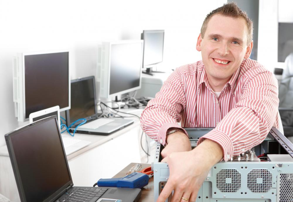 Some desktop computer support professionals may be hands-on technicians.