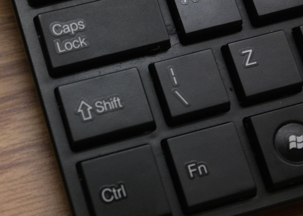 The 'Ctrl' key is a modifier key that is intended to be pressed down in combination with one or more other keys.