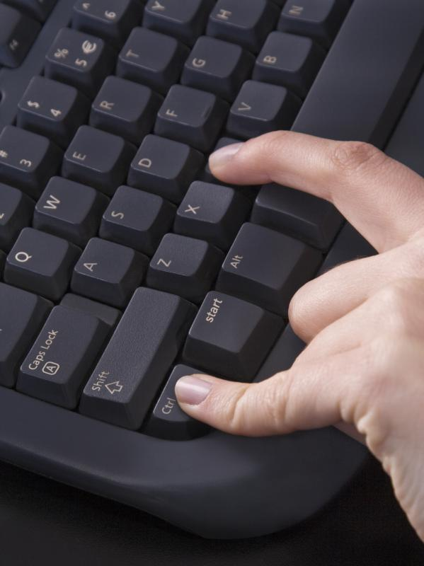 "The ""ctrl"" key is often used for keyboard shortcuts."
