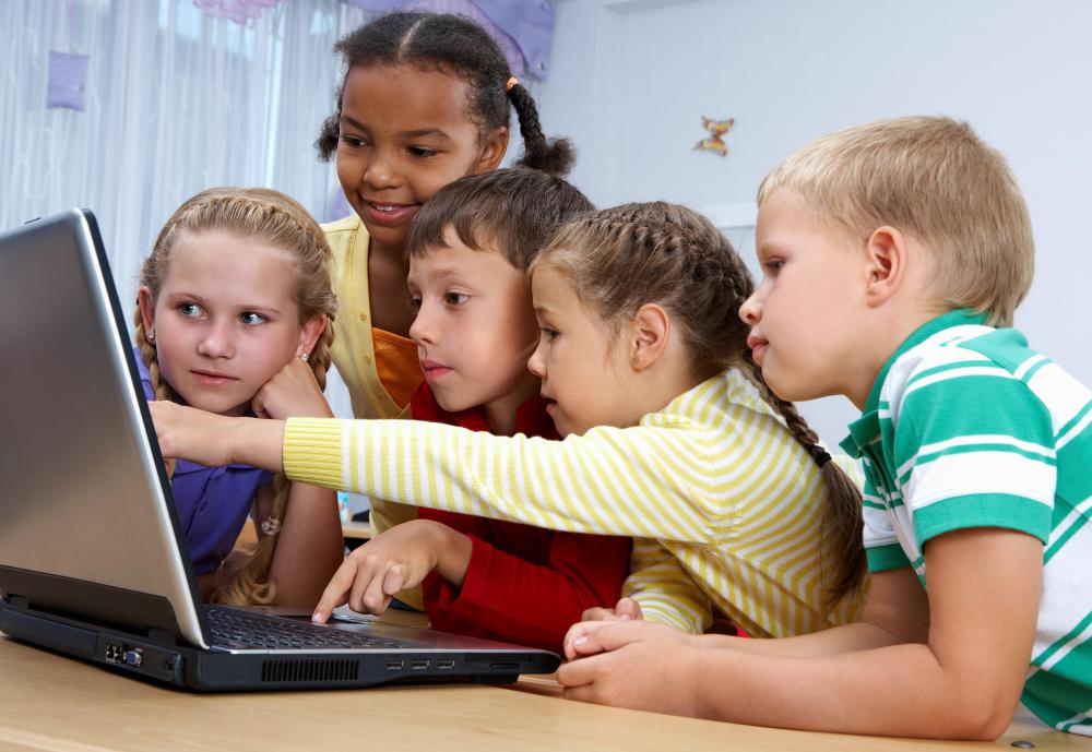 One of the main types of computer software for kids is designed just for fun.