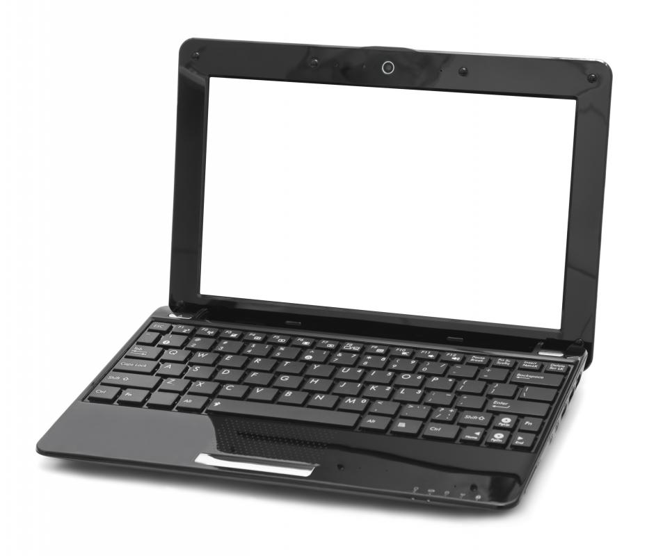 Laptops usually have screens that fold into the keyboard.