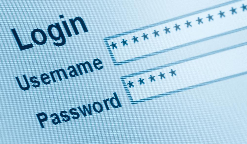 A sign in interface with a username and password.