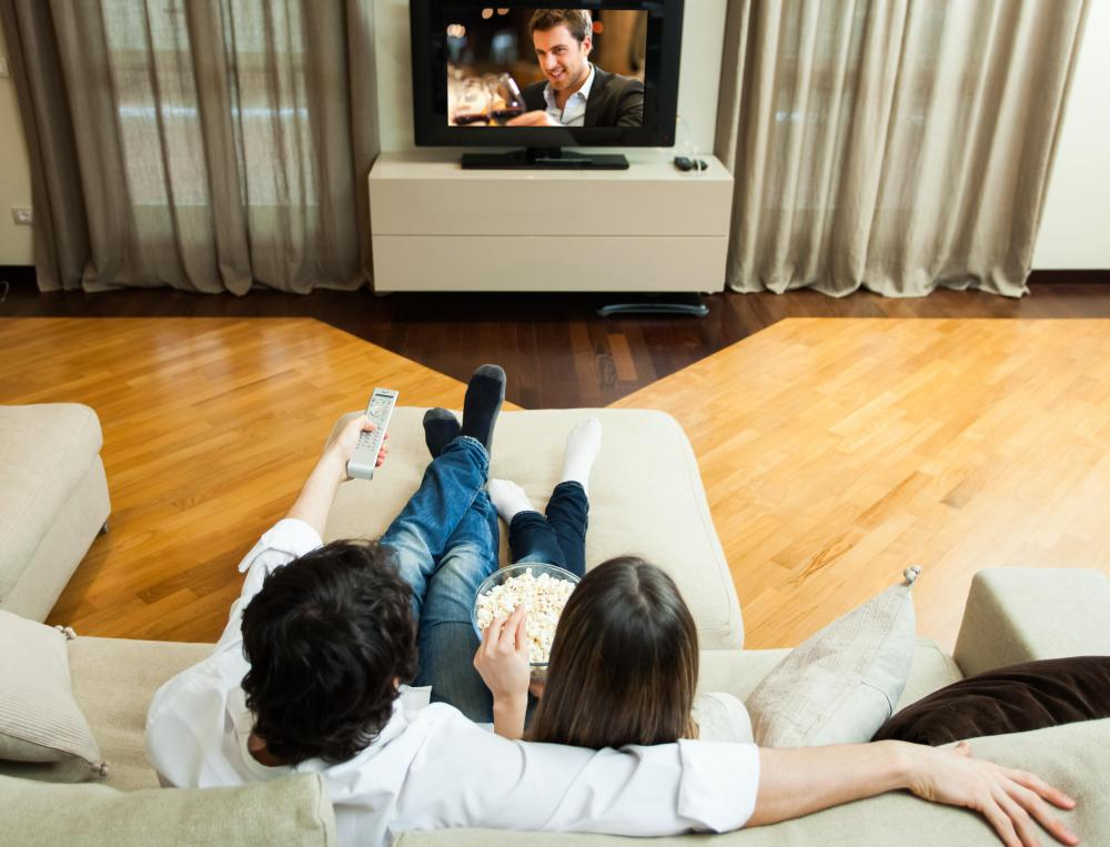 Some kinds of streaming media can be viewed on a person's television.