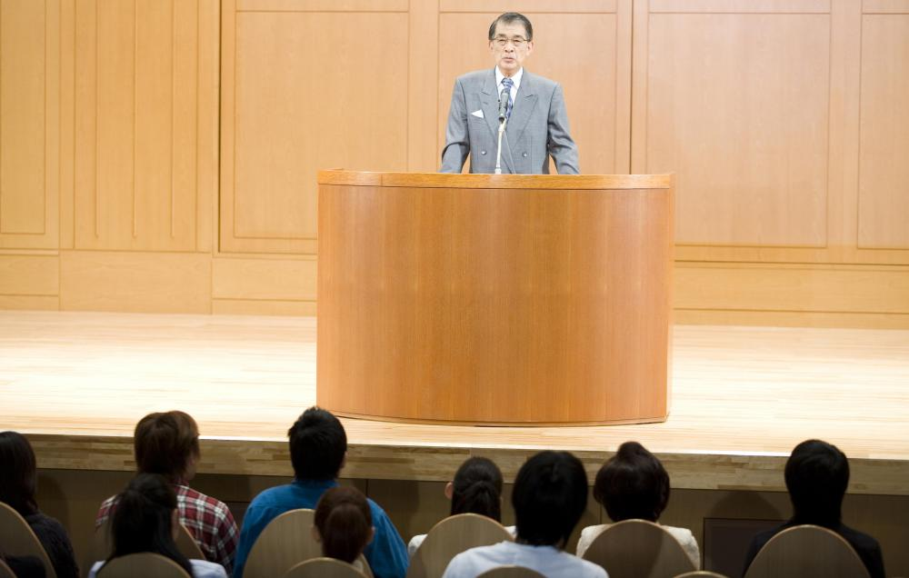 Many colleges and universities record live lectures for online learning.