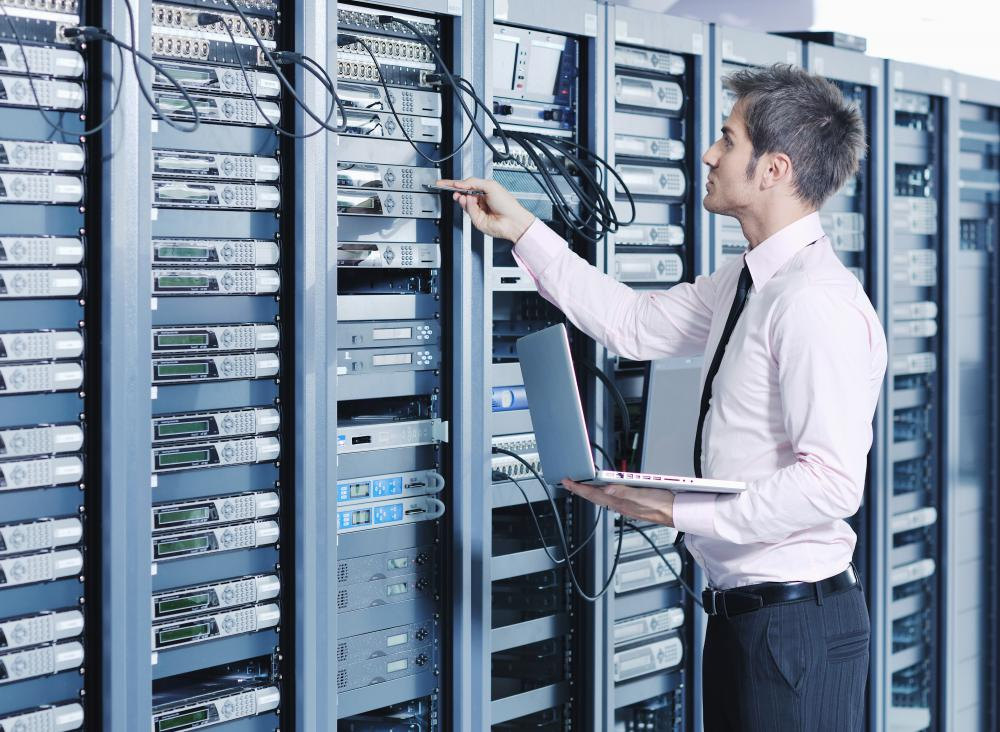 Multi-user systems often require a network of servers and other components.