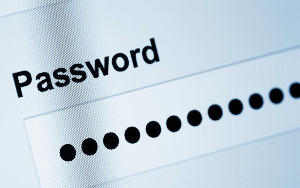 Email accounts require the use of a password to gain access.
