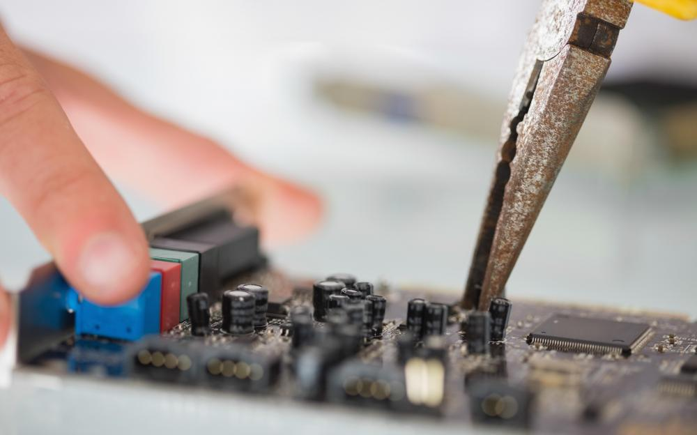 Diagnostic tools help computer repair workers find and fix problems.