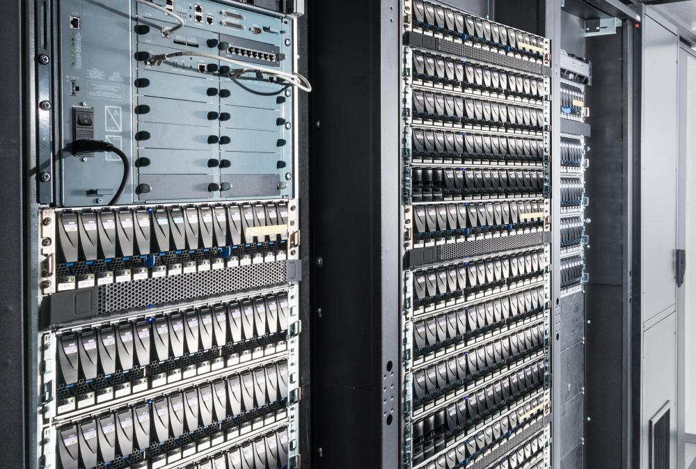 Primary and backup servers are common component in a basic network configuration.