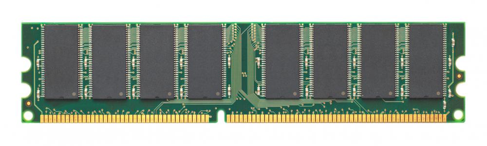 A stick of RAM, which is charged by a memory refresh.