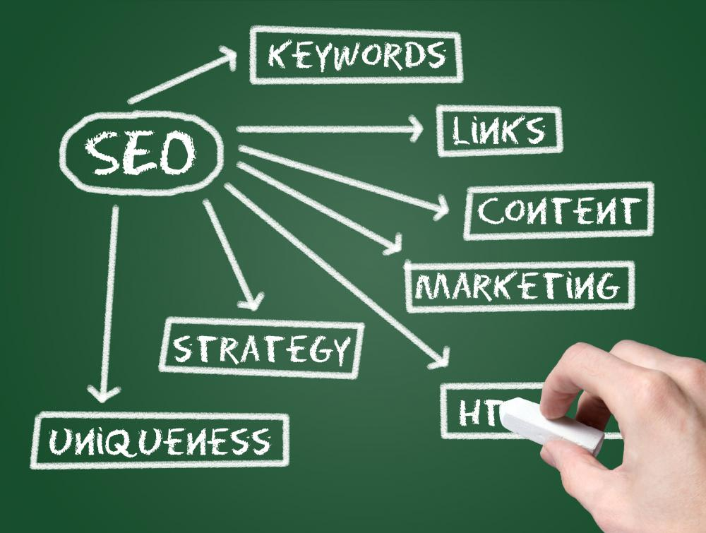Search engine optimization is the preparation and tweaking of a web page so that it is both highly visible to and highly ranked in search engines.