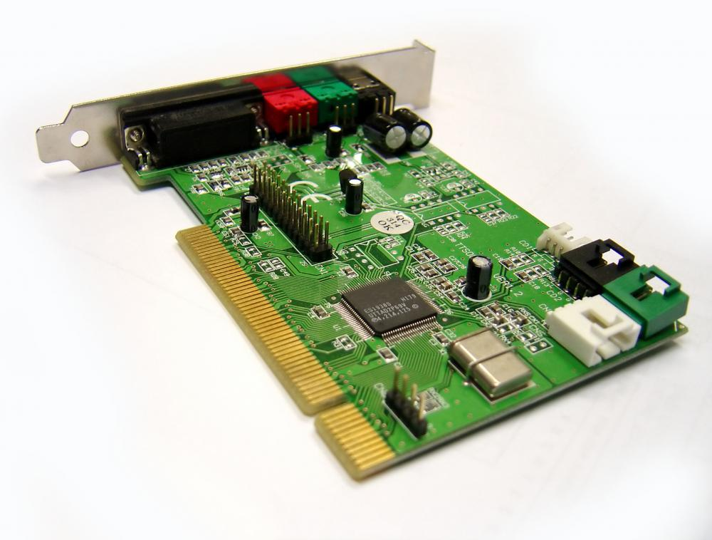 Much like other types of sound cards, a MIDI sound card will typically allow a user to connect speakers and a microphone to the computer as well.