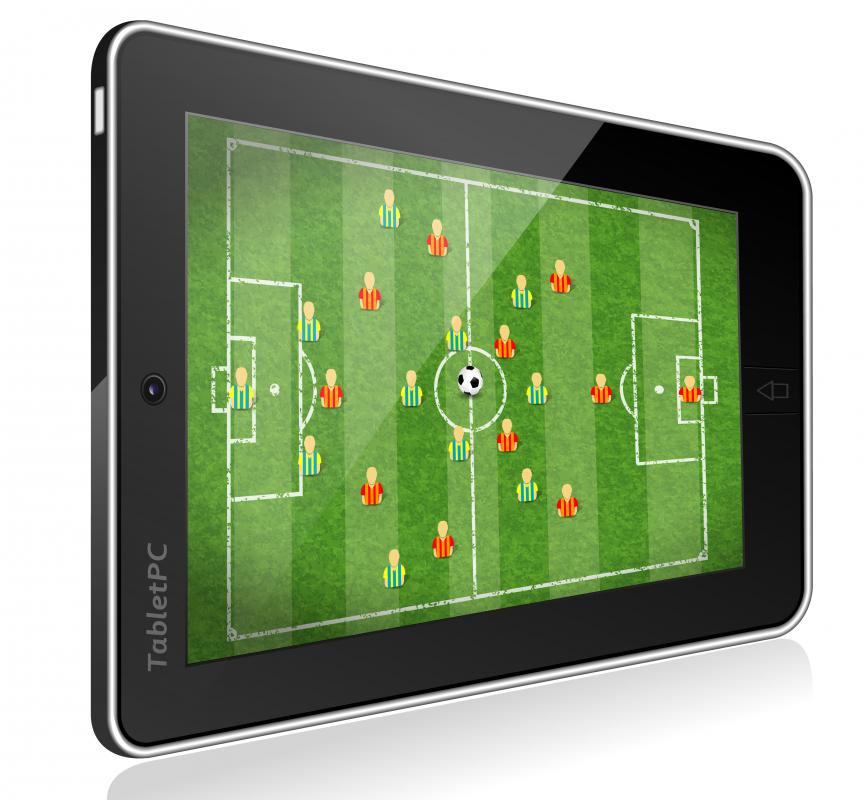 Software for tablets has usually been specifically designed for the platform.