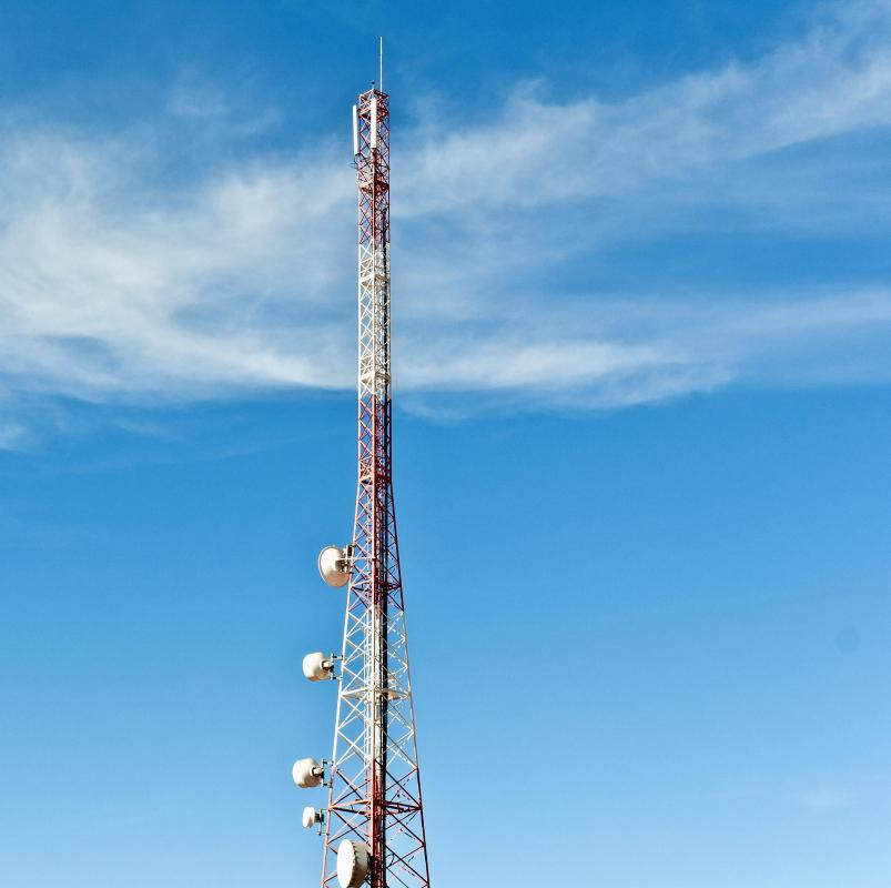 Broadcasting towers are a kind of wireless network device.