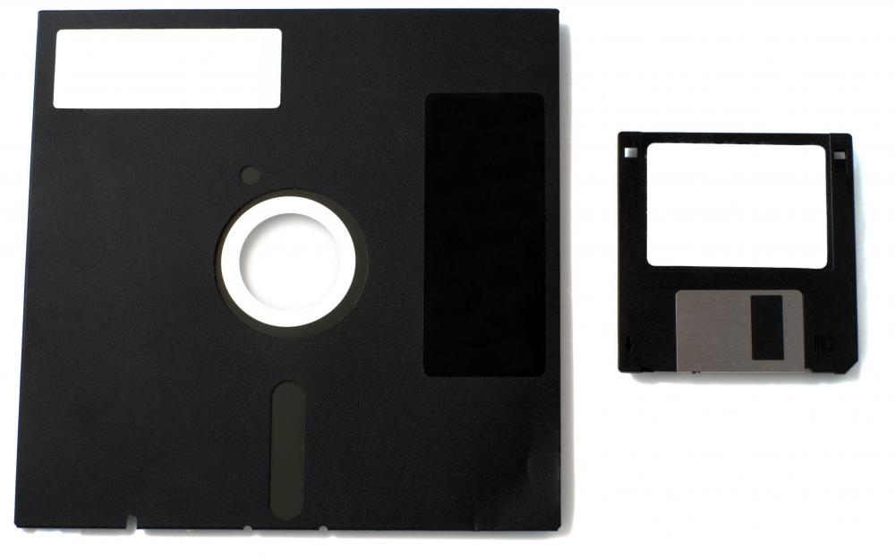 Floppy disks are an older class of mass storage devices.