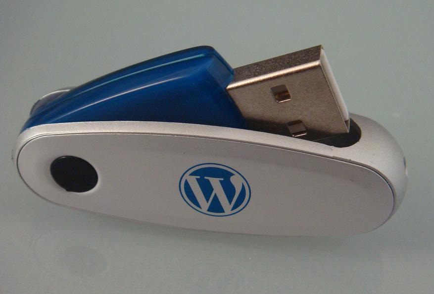 USB drives can be useful for backing up software.