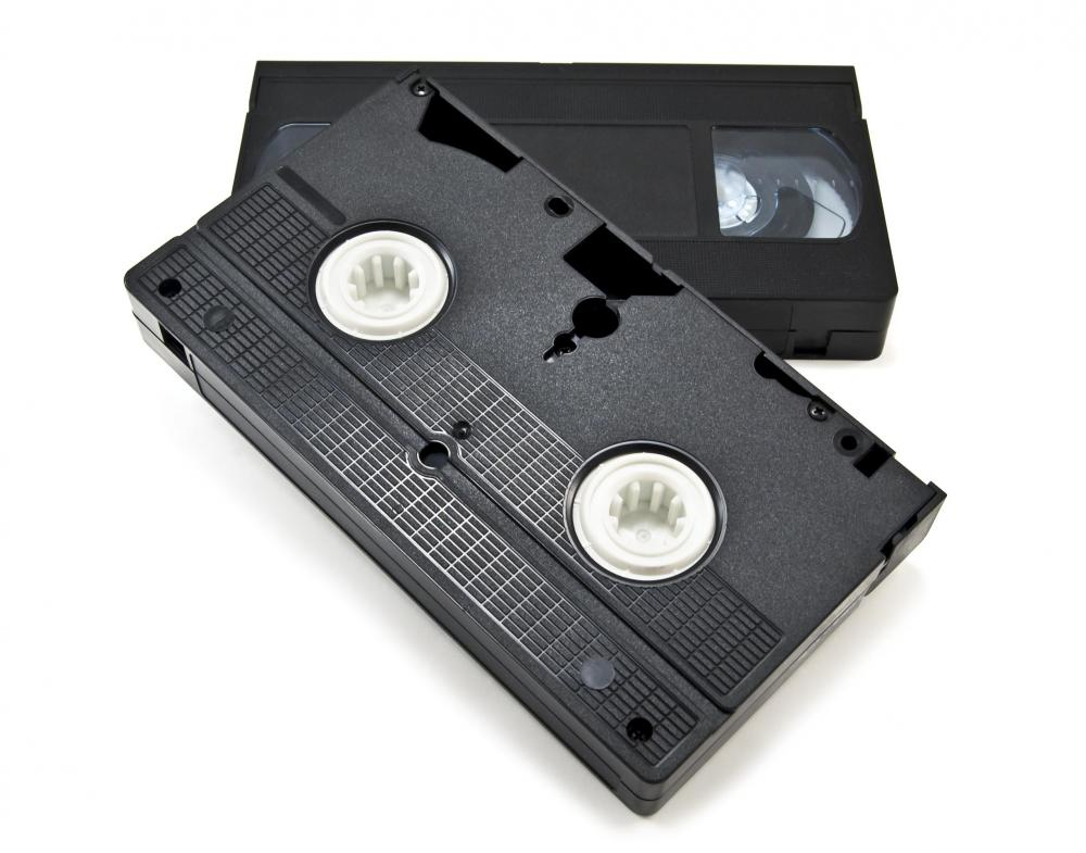 Surveillance systems may record footage on video cassette tapes.