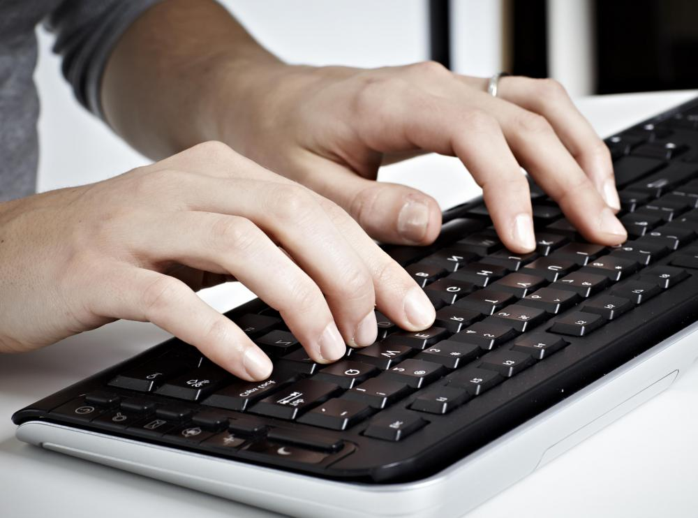 Individuals who work in data entry positions are typically required to execute a specific number of Keystrokes Per Minute with a high degree of accuracy.