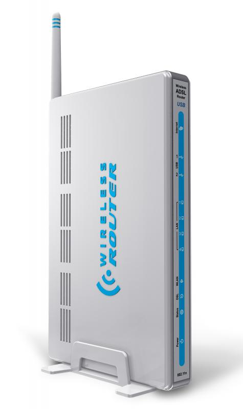 A router, a type of a wireless network device.
