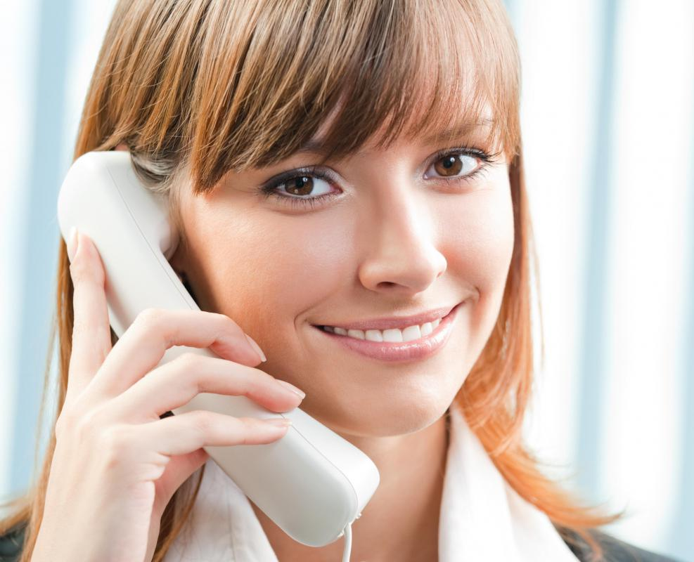 Landline telephones continue to be part of the telecommunications industry.