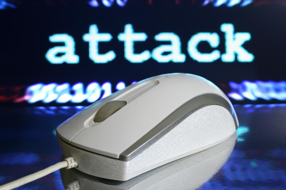 A firewall monitor keeps track of attacks by malicious programs.